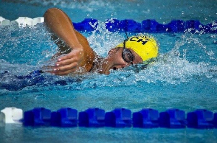 Public swimming pool in Gold Coast