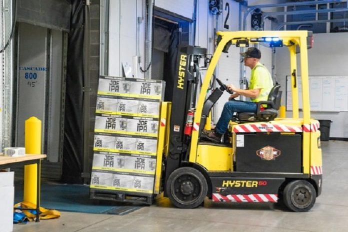 Handling a Forklift